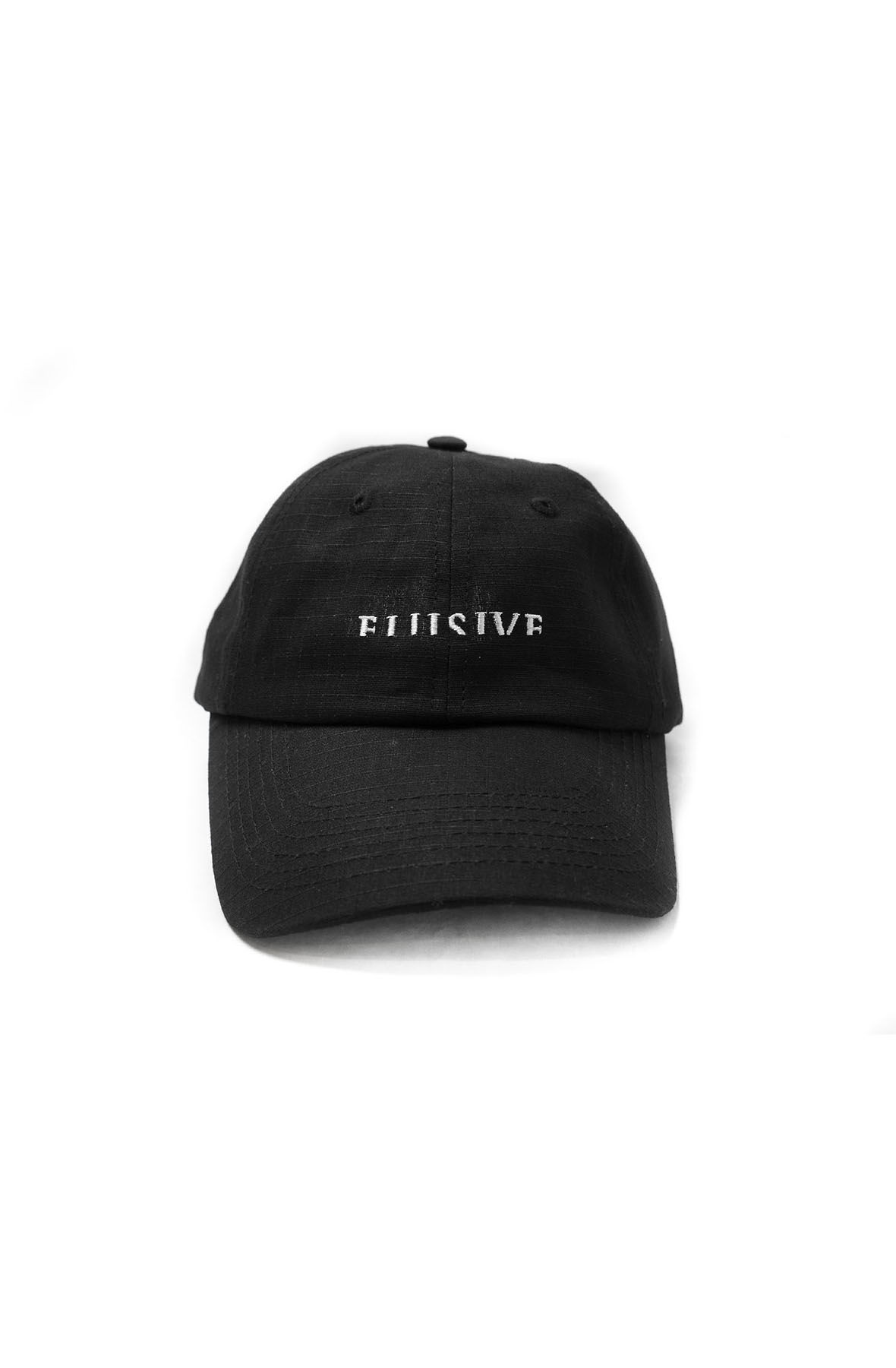 Image of Micrologo Ripstop Dad Hat in Black