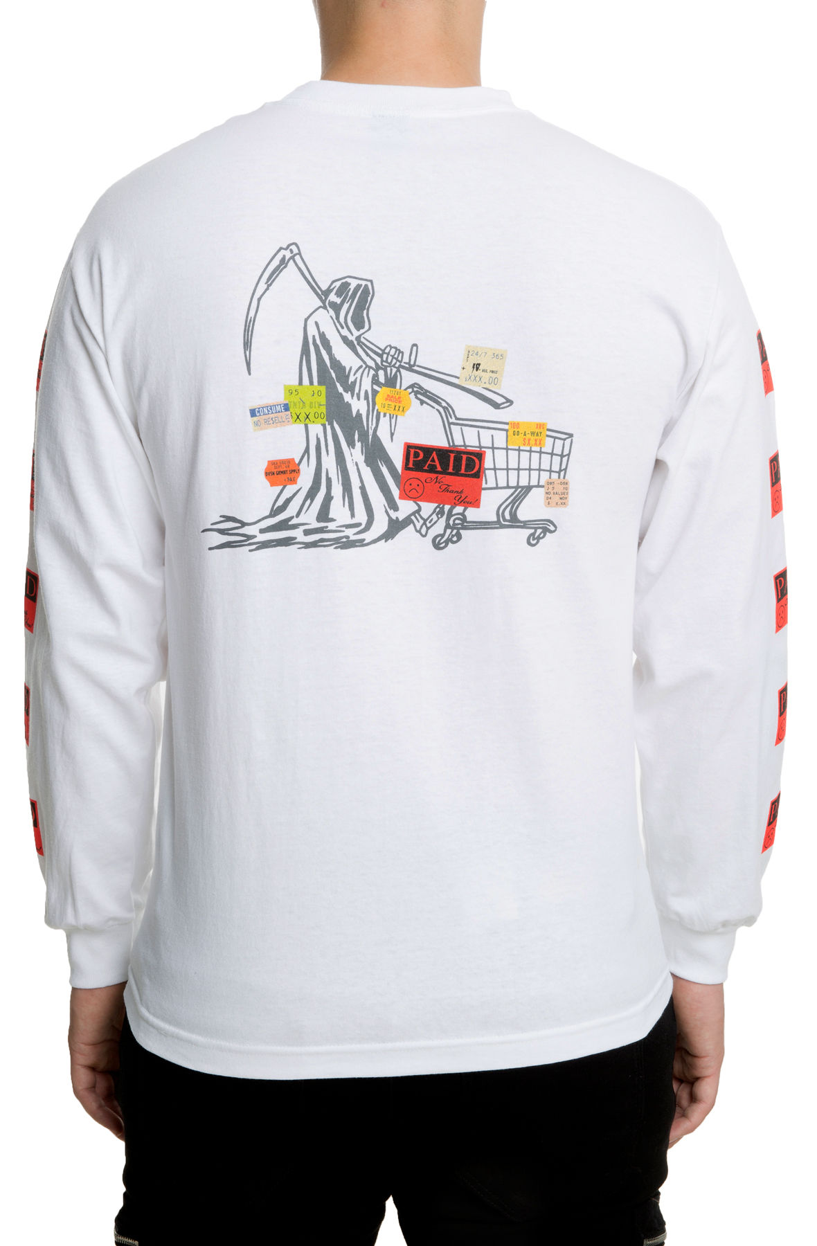 The Paid in Full L/S Tee in White