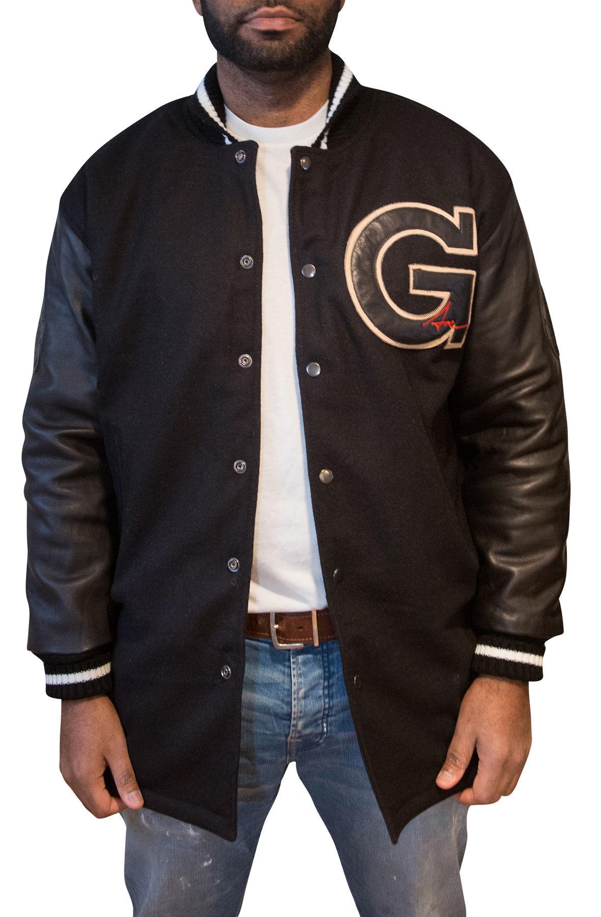 Image of Fishtail Varsity Jacket