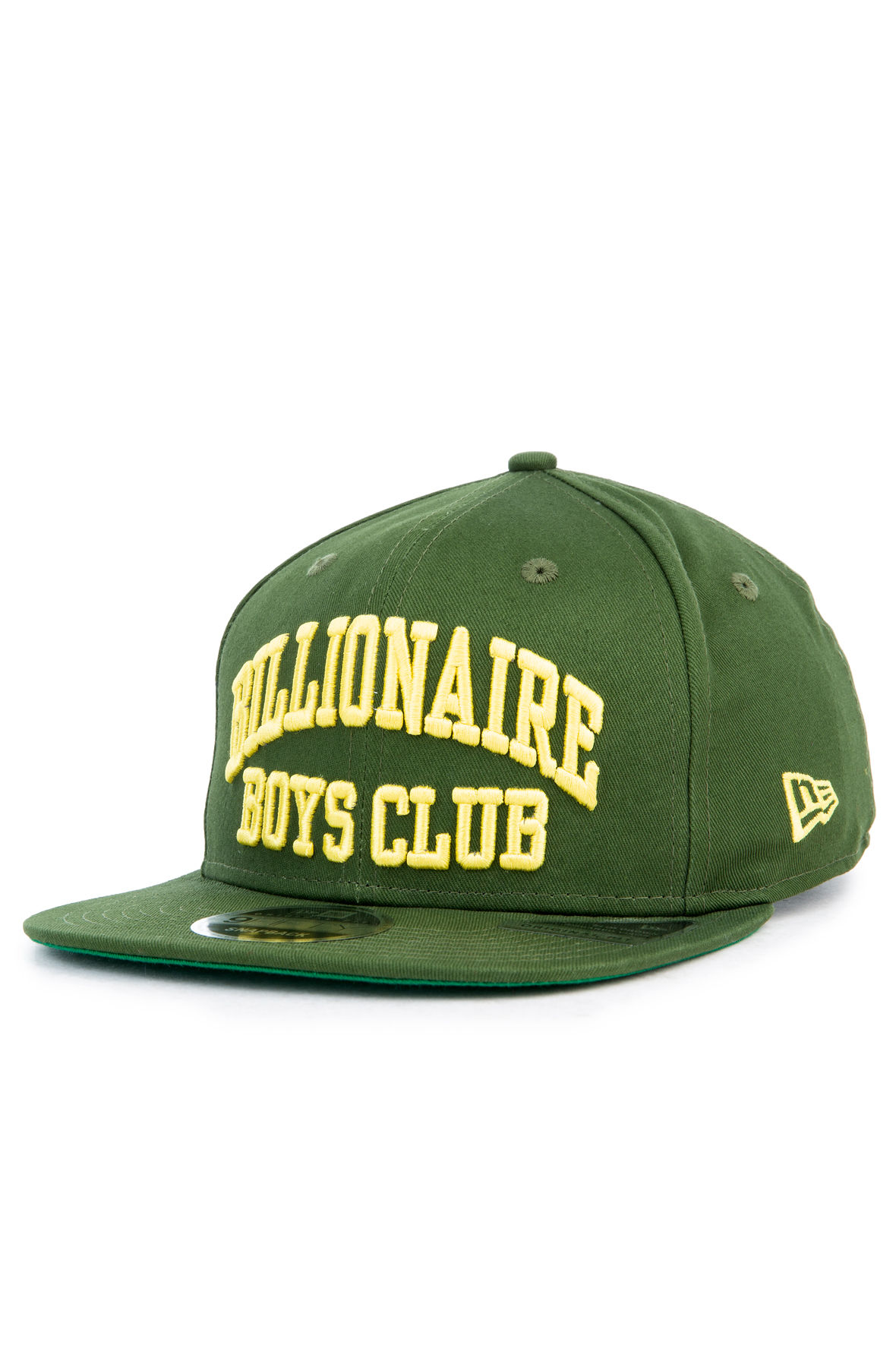 The BB Bent Snapback Hat in Forest