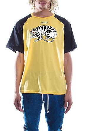 Retro Hype TigerT-shirts Lemon