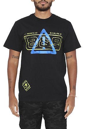 alert t shirt black