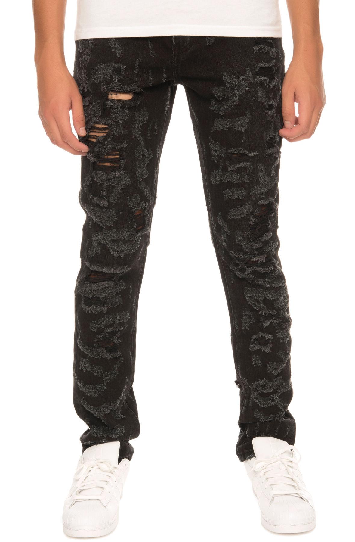 Image of The Erika Denim Jeans in Black