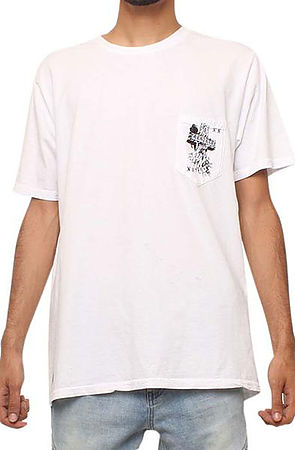 Image of The Remains Pocket T-shirt in Vintage White