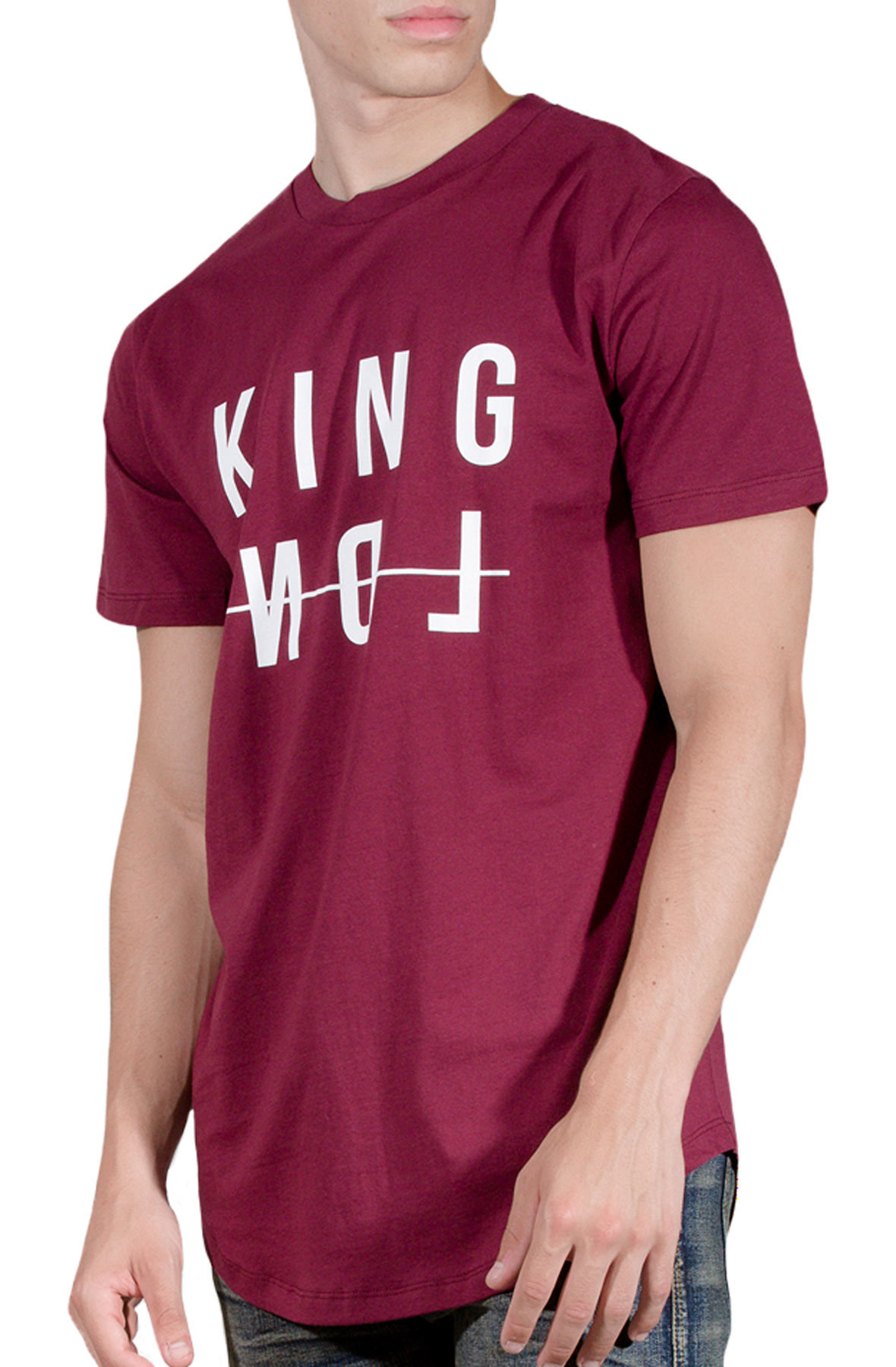 Image of Dalston T-shirt Oxblood