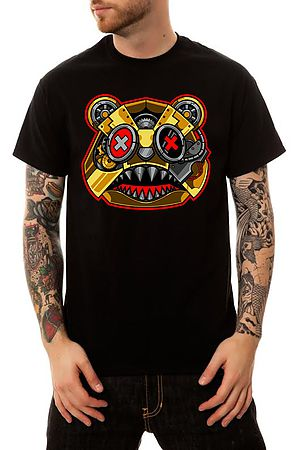 Image of BAWS SteamPunk T-Shirt in Black