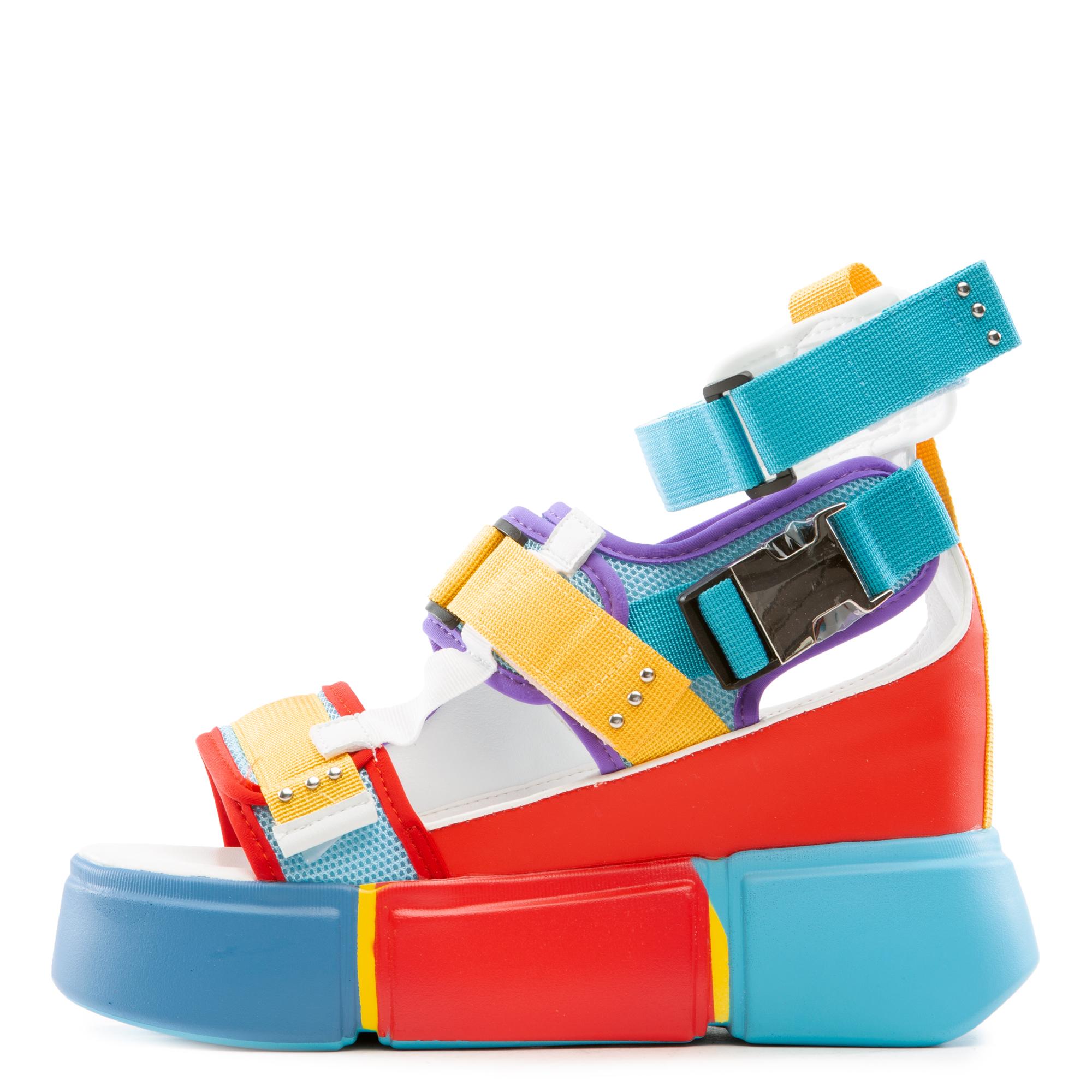 Cranberry-02 Platform Sandals