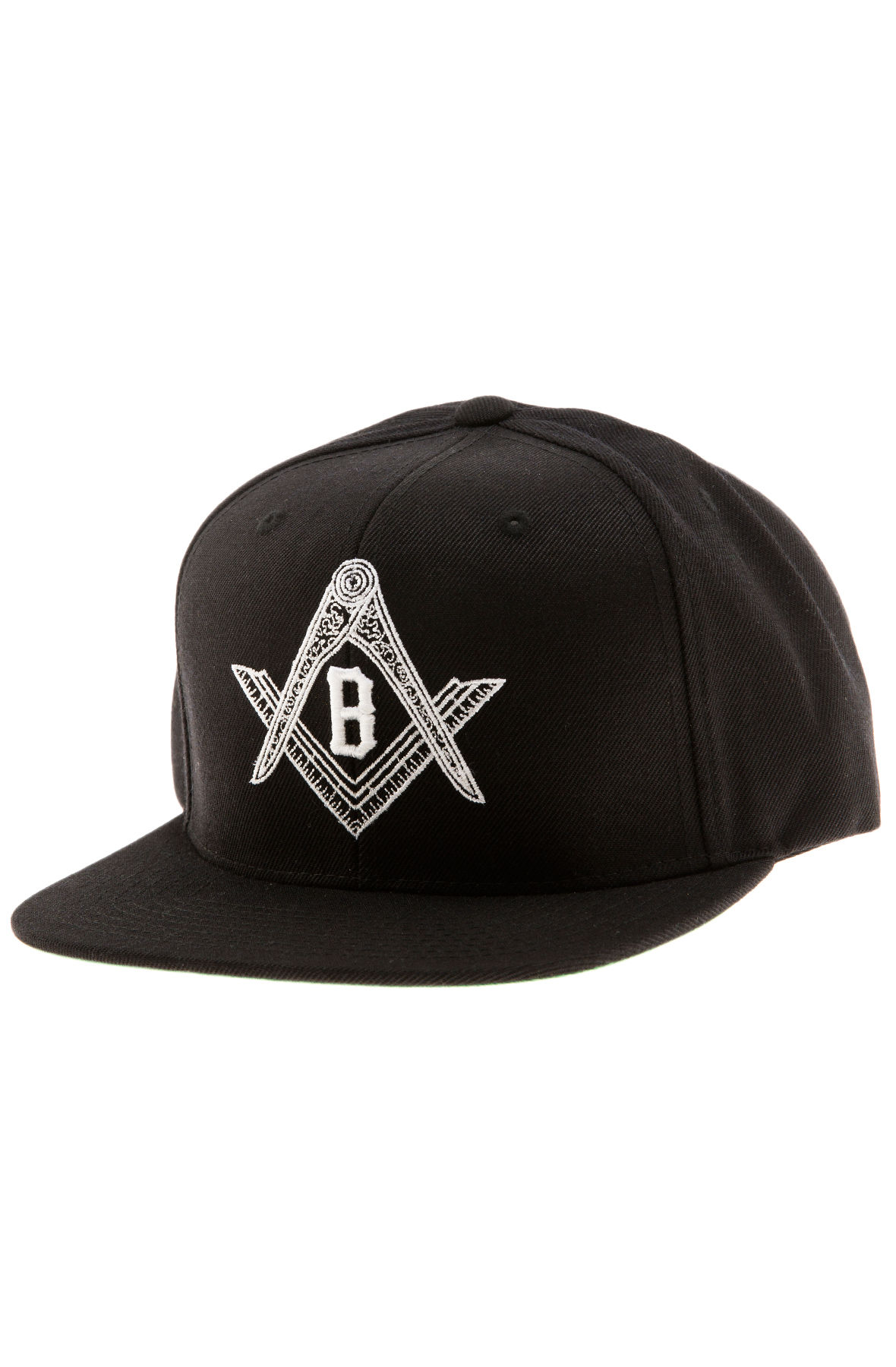 Black Scale Hat Compass Snapback Black 82305c69a86a