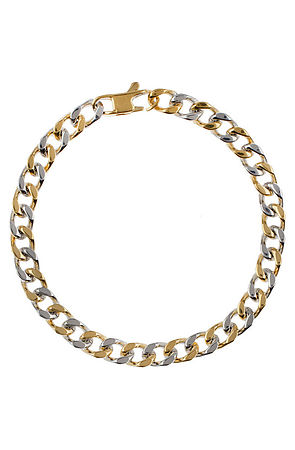 Image of The Dyad Bracelet- Gold & Chrome