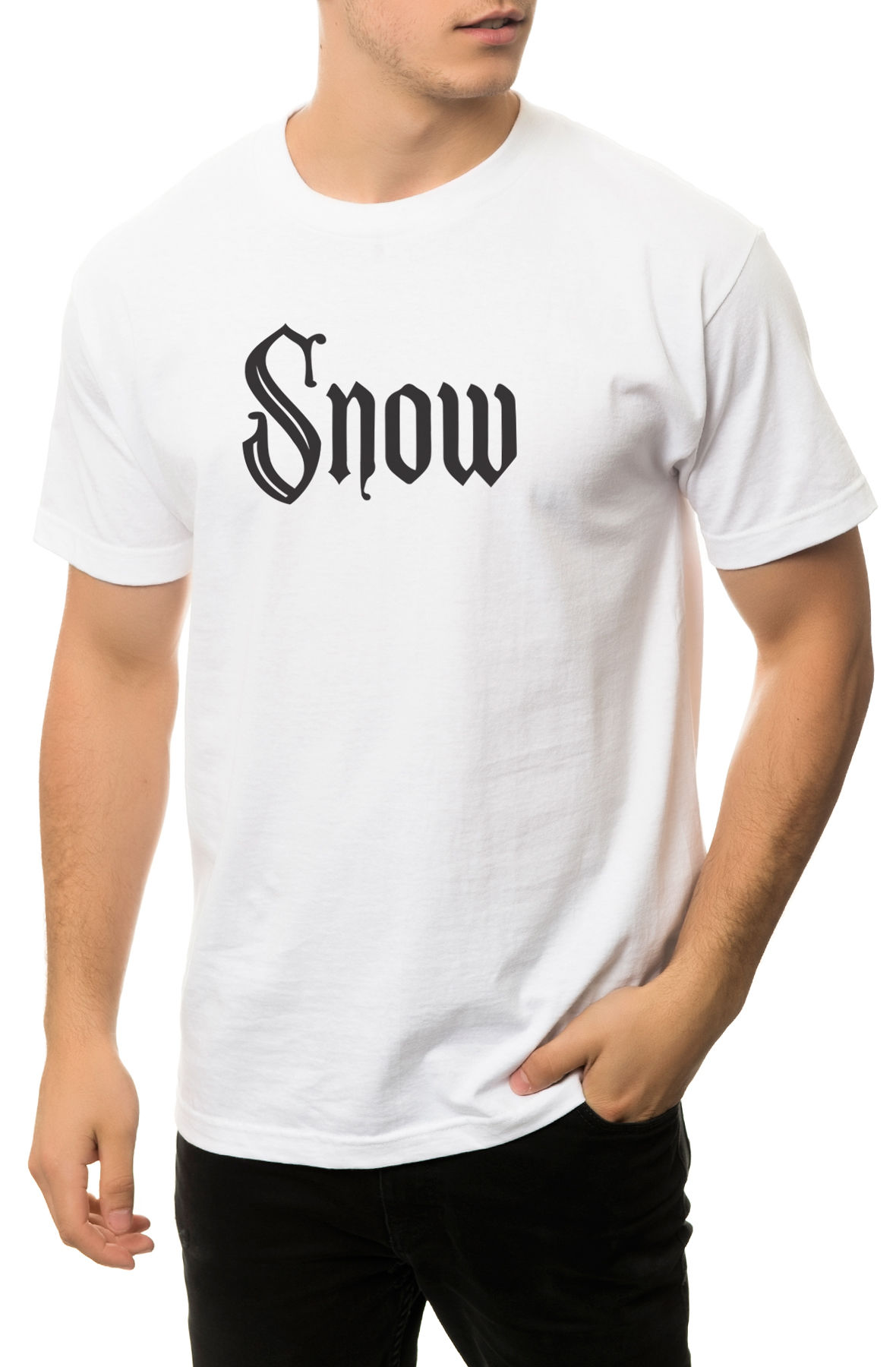 The Snow Girl Tee in White