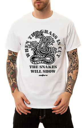Image of The Snakes T-Shirt in White