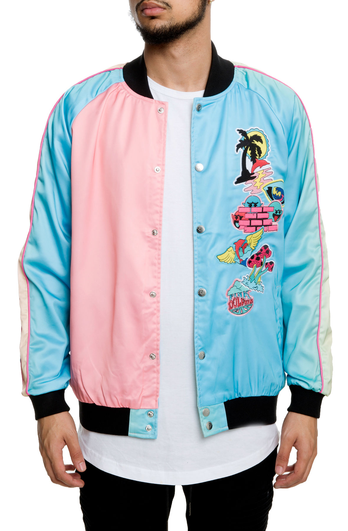 Image of The Paradise Patch Souvenir Jacket in Multi