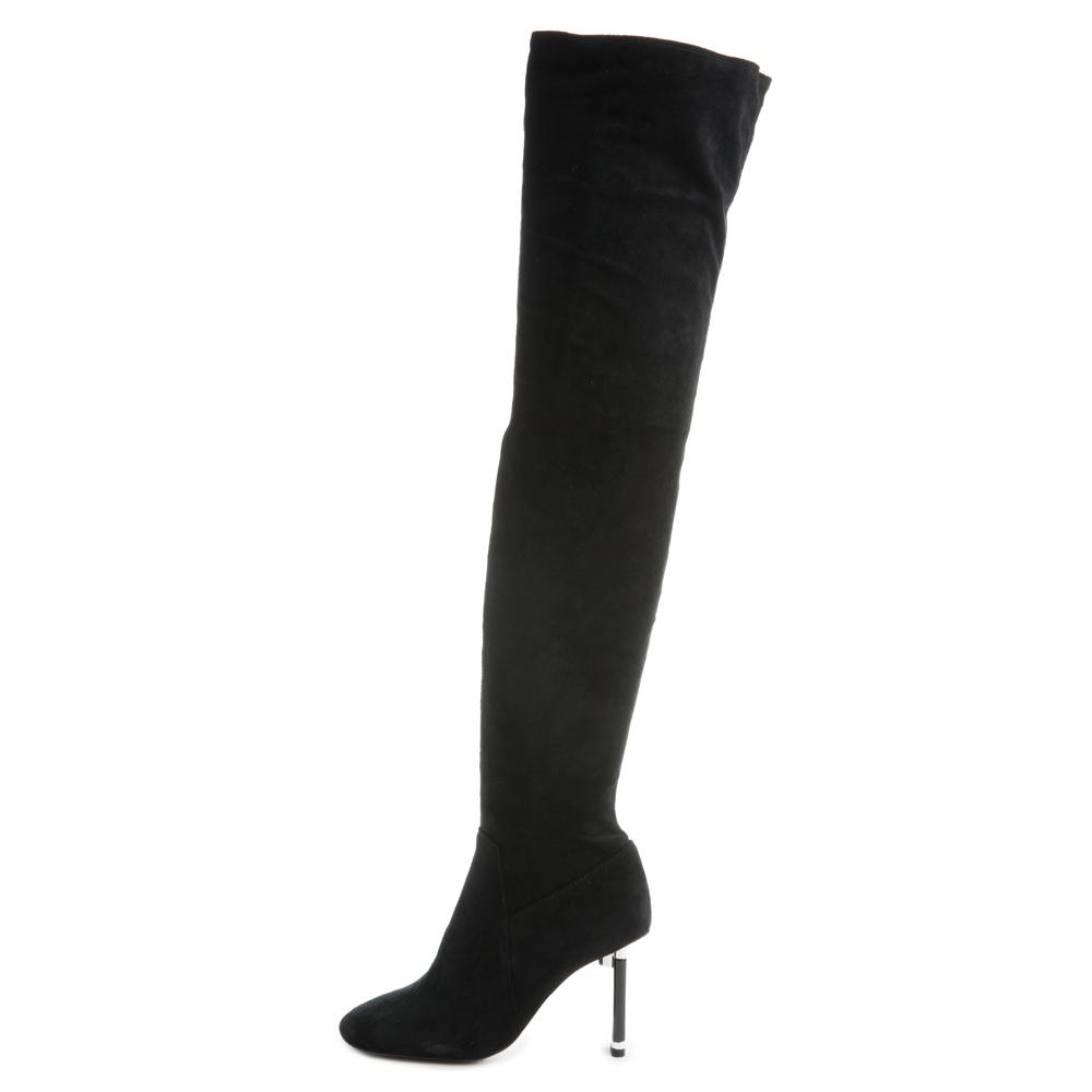 Peligro-Ok Thigh-High Heeled Boots
