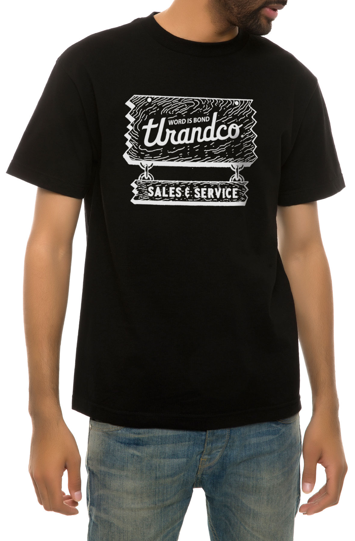 Image of The Sales and Service Tee in Black