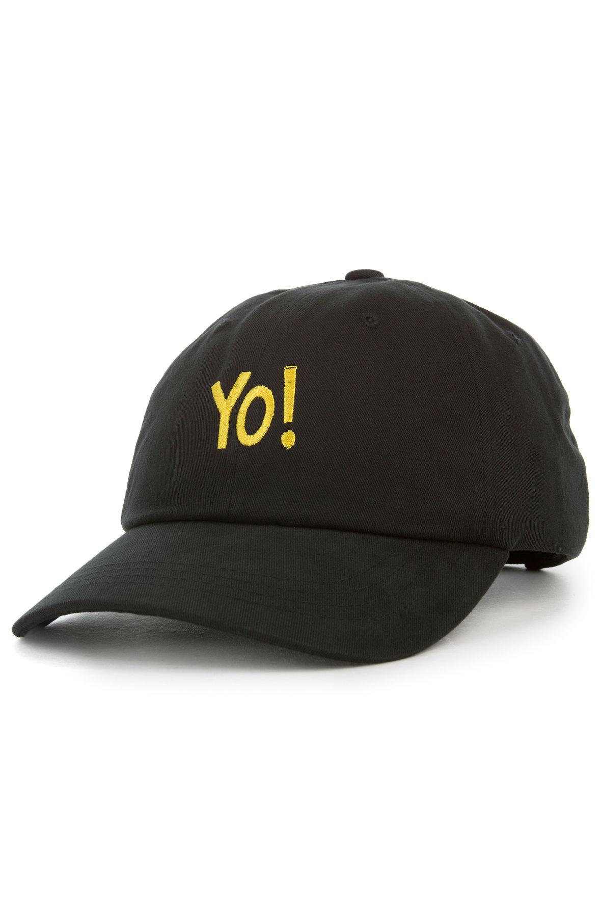 Image of The Hip Hop Dad Hat in Black