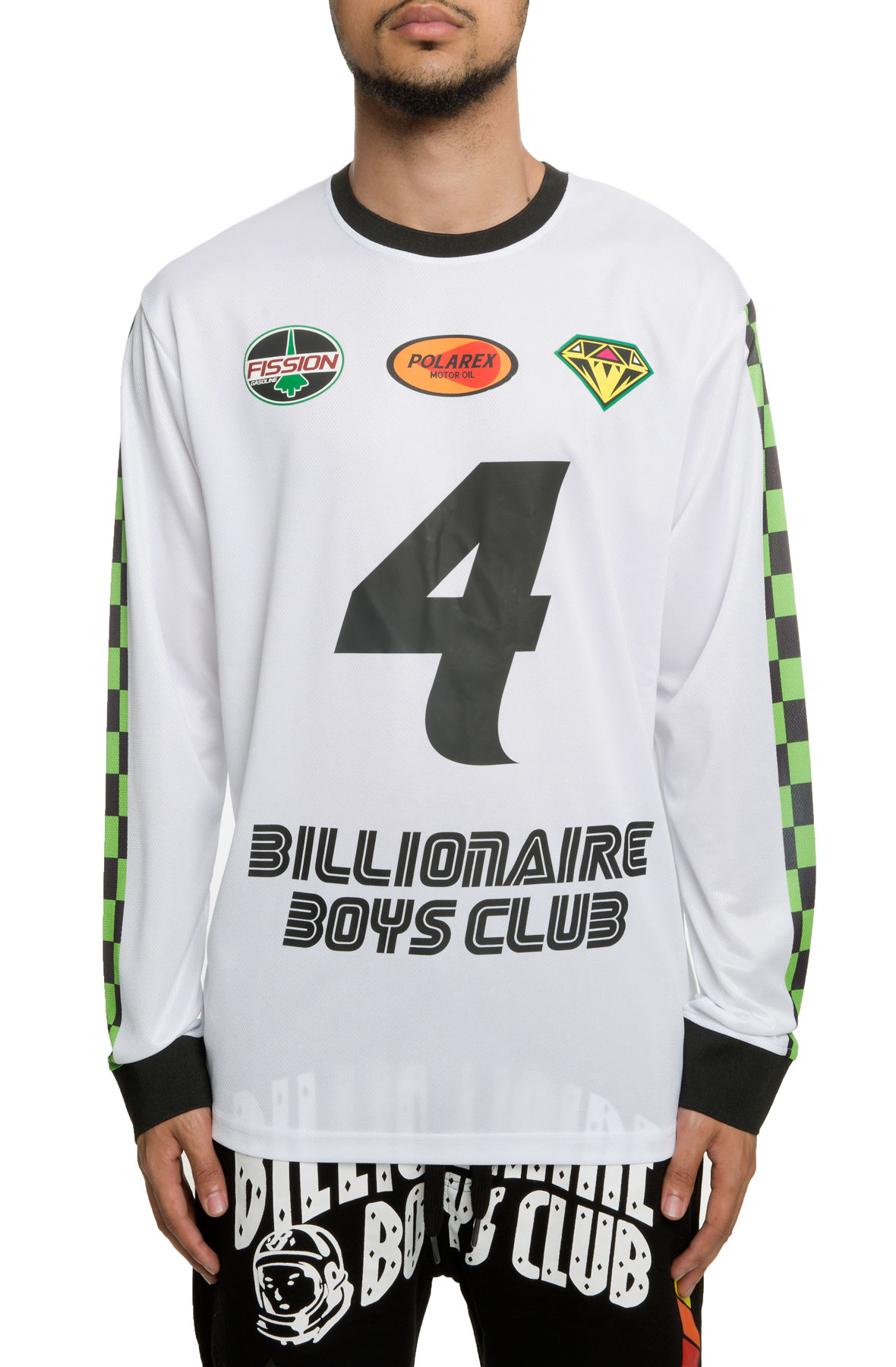 Image of The Pro MX Long Sleeve in White