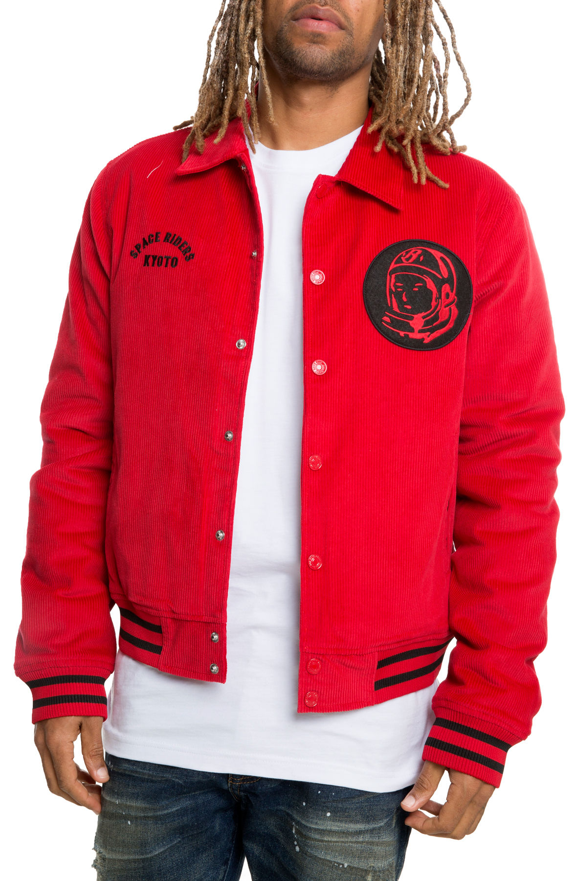 Image of Pit Boys Jacket In Tango Red