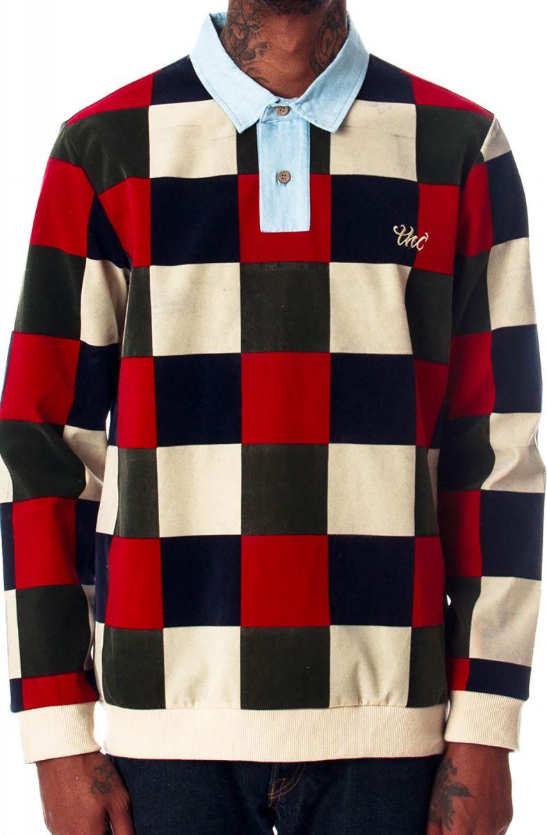 cb8768cc899 Checkered Vintage Rugby Polo (Multigrain)