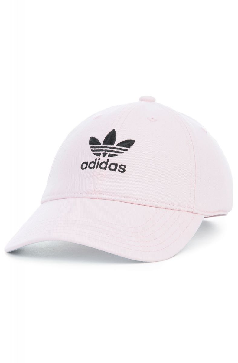 b60daaa6504 adidas Hat Originals Relaxed Strapback Clear Pink