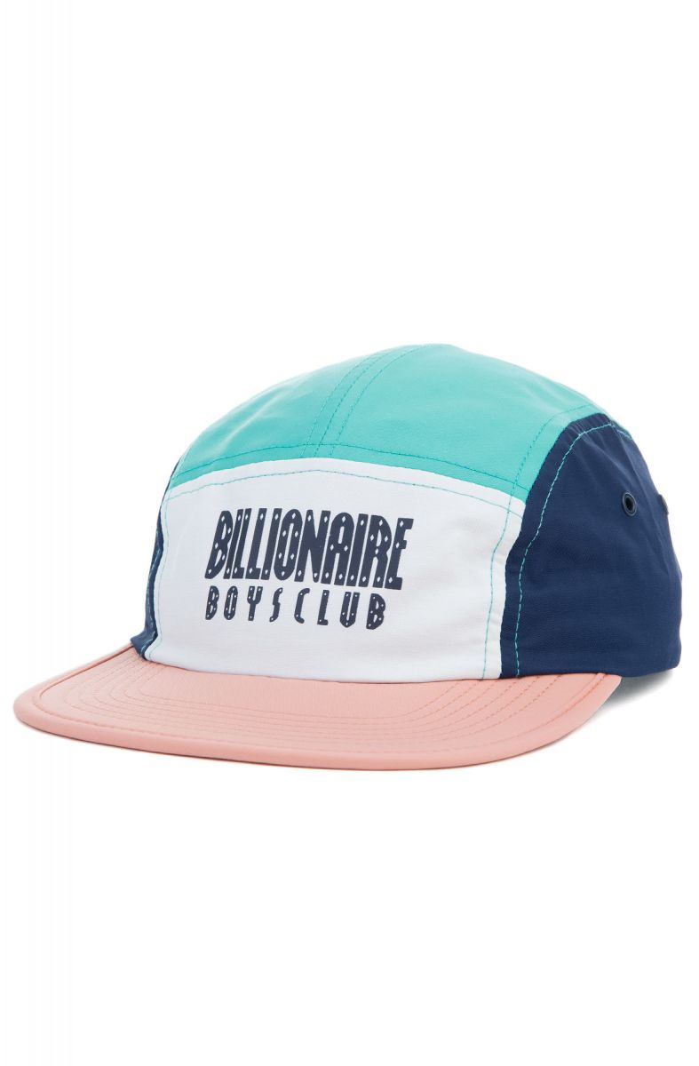 Billionaire Boys Club Hat BB Padlocks 5 Panel Coral Almond Multi 42e7dcee8b6c