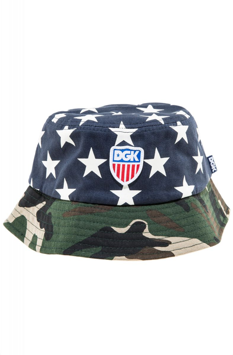 8ccdeab43bffc ... The Americana Bucket Hat in Navy ...