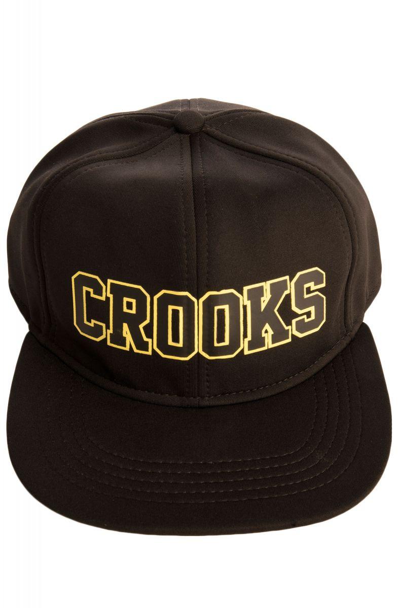 Crooks and Castles Hat Crooks Armada Snapback Black 101eb868e237