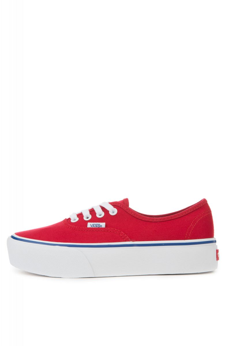 c2d25b67fc2 The Women s Authentic Platform 2.0 in Racing Red and True White ...