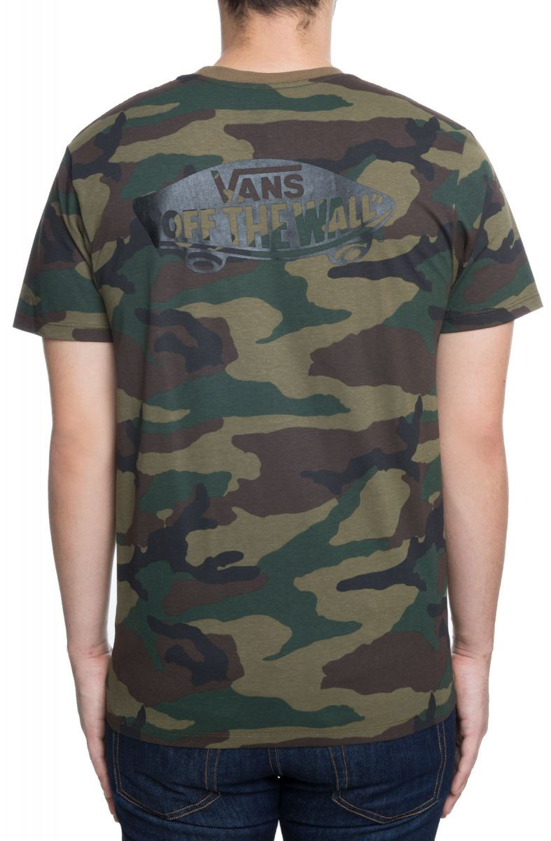 db33688836 The OTW Classic Tee in Camo and Black