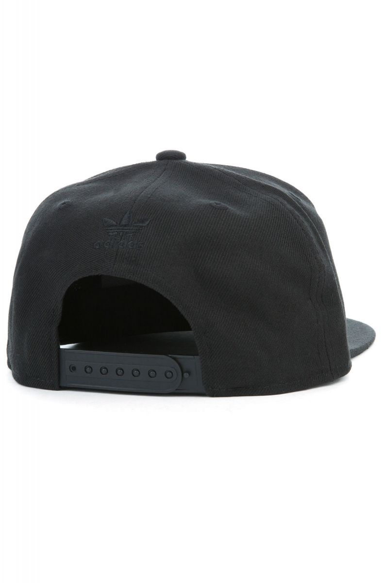 83fccad98 The Adidas Originals Thrasher Chain Snapback Black