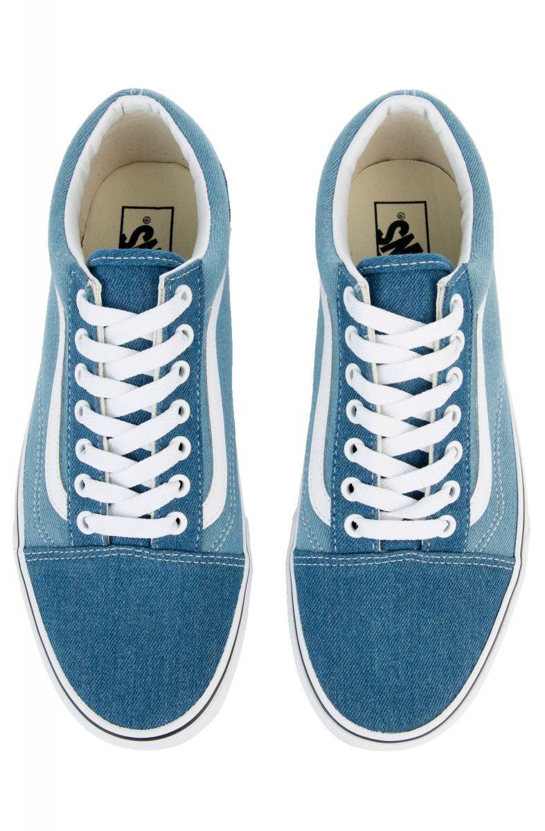 e226d96e2f Vans Sneaker Men s Old Skool 2-Tone Denim Blue