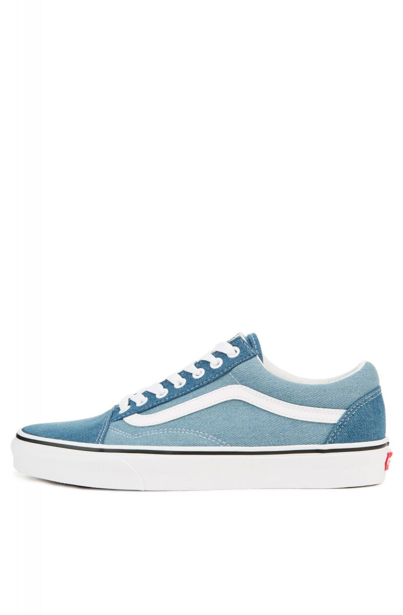 40277c64c9 Vans Sneaker Men s Old Skool 2-Tone Denim Blue