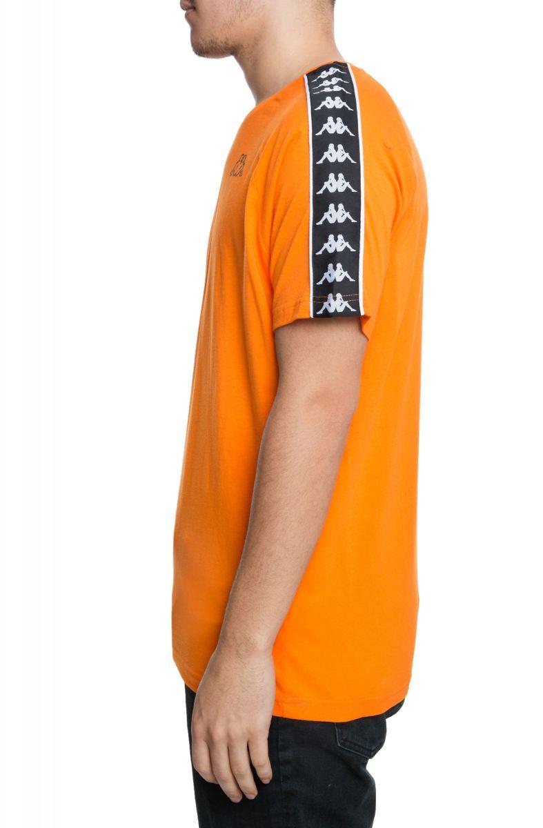 2f7146f762 The 222 Banda Coen Slim Tee in Orange Pop and Black