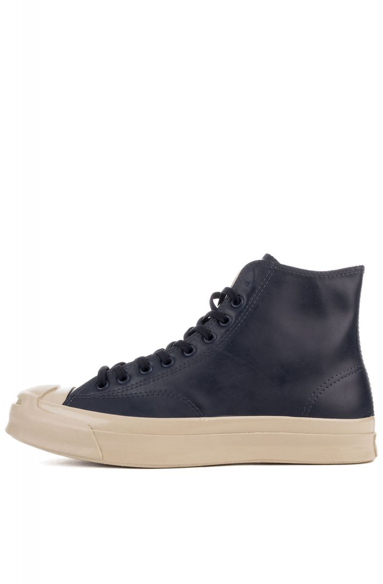 The Jack Purcell Signature High Top Sneaker in Inked   Frayed Burlap 128bb1a91