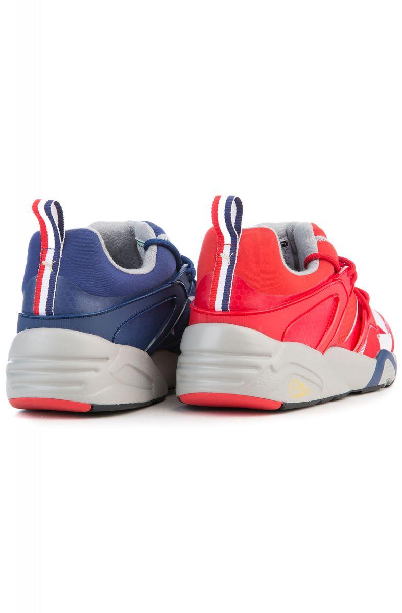 bbcf1e1742c ... The Blaze of Glory RWB Sneaker in High Risk Red