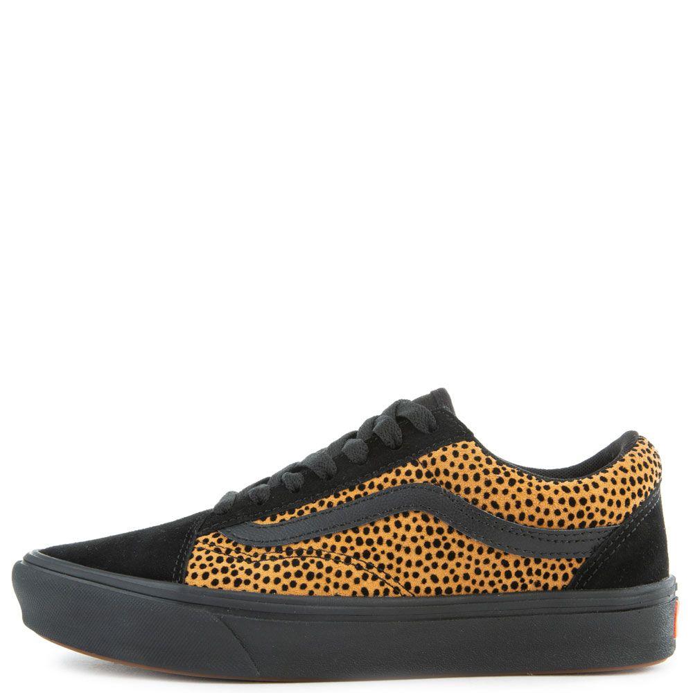 Comfycush Old Skool in Tiny Cheetah/Black