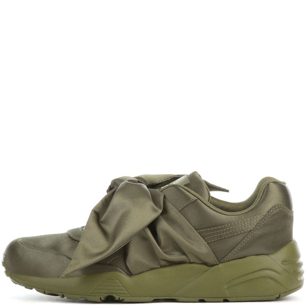 new arrival d86d2 31c6d The Puma x Fenty by Rihanna Bow Sneaker in Olive Branch