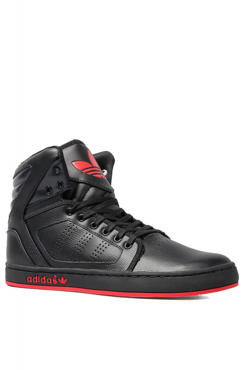 pretty nice 9c367 3705b The Adi High EXT Sneaker in Black  Vivid Red