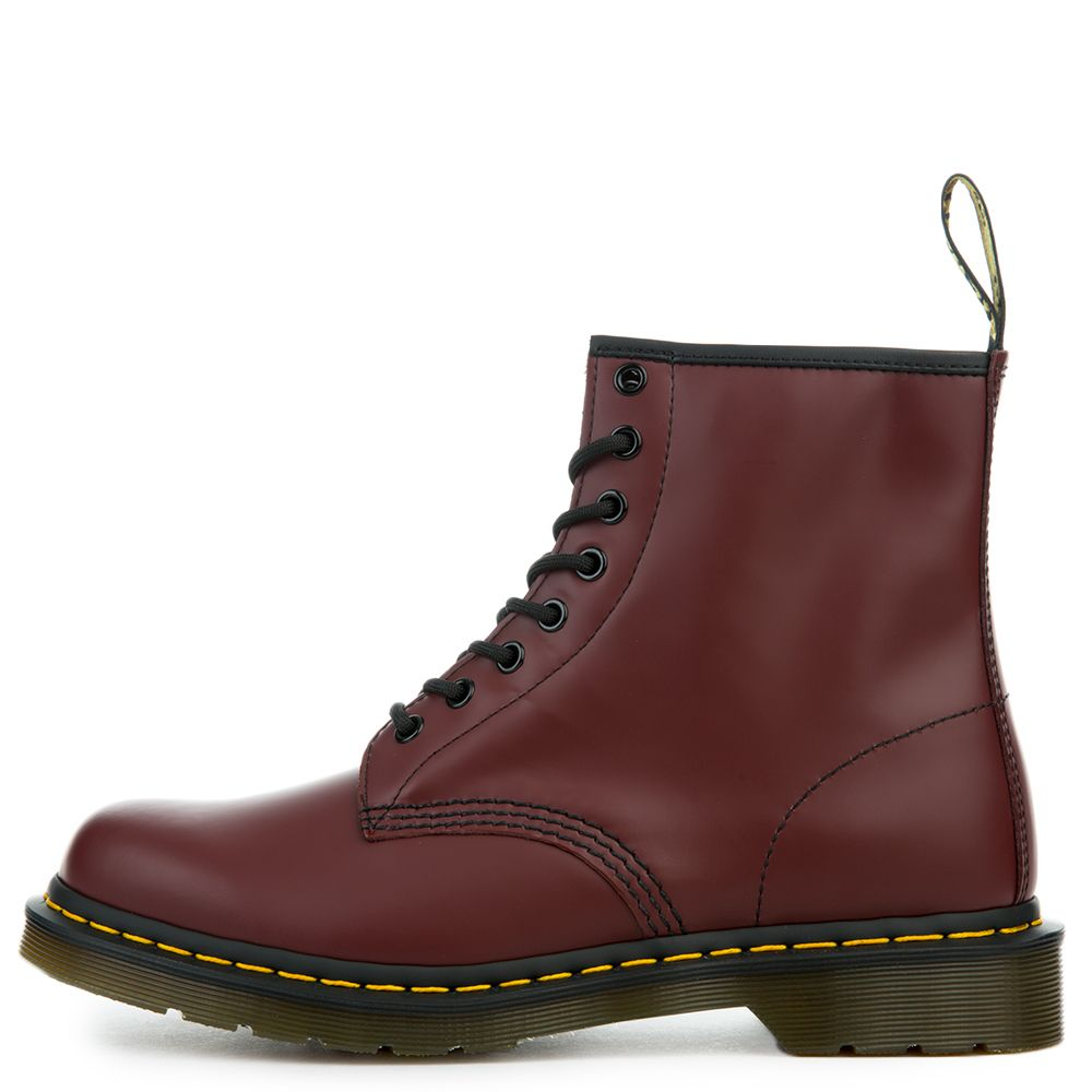 Dr. Martens 1460 Nappa Leather Men s Cherry Red Boots e28f812253d