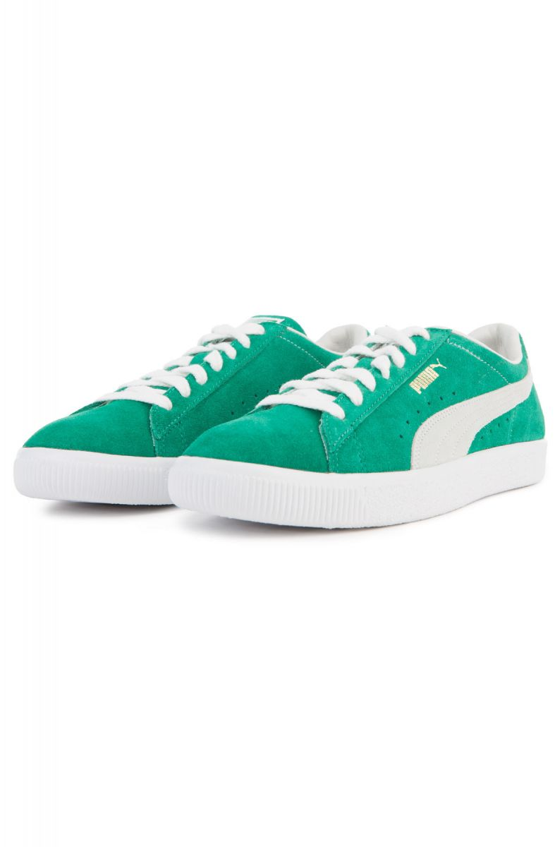release date: 48c41 37219 The Suede 90681 in Kelly Green and Puma White
