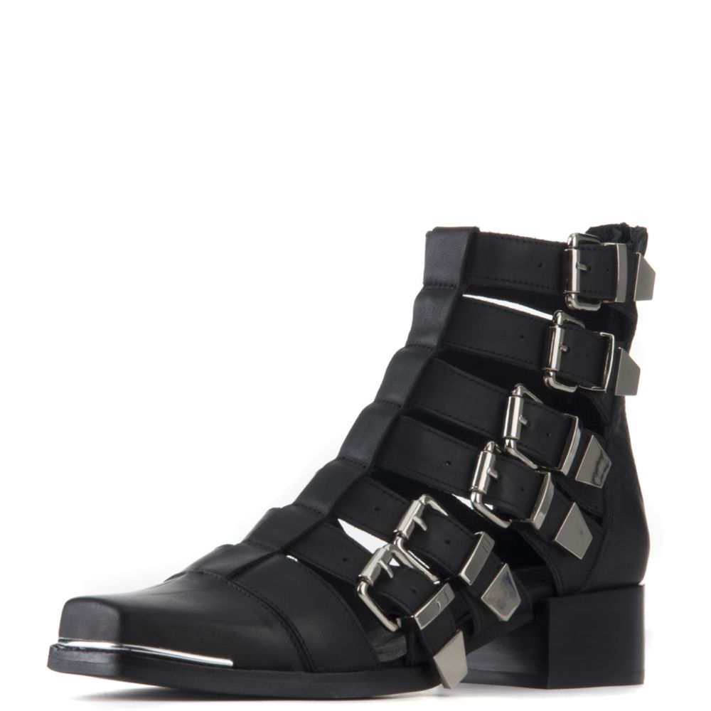 newest collection dbf8c 0f0ae Jeffrey Campbell for Women: Destructa Black Heel Booties