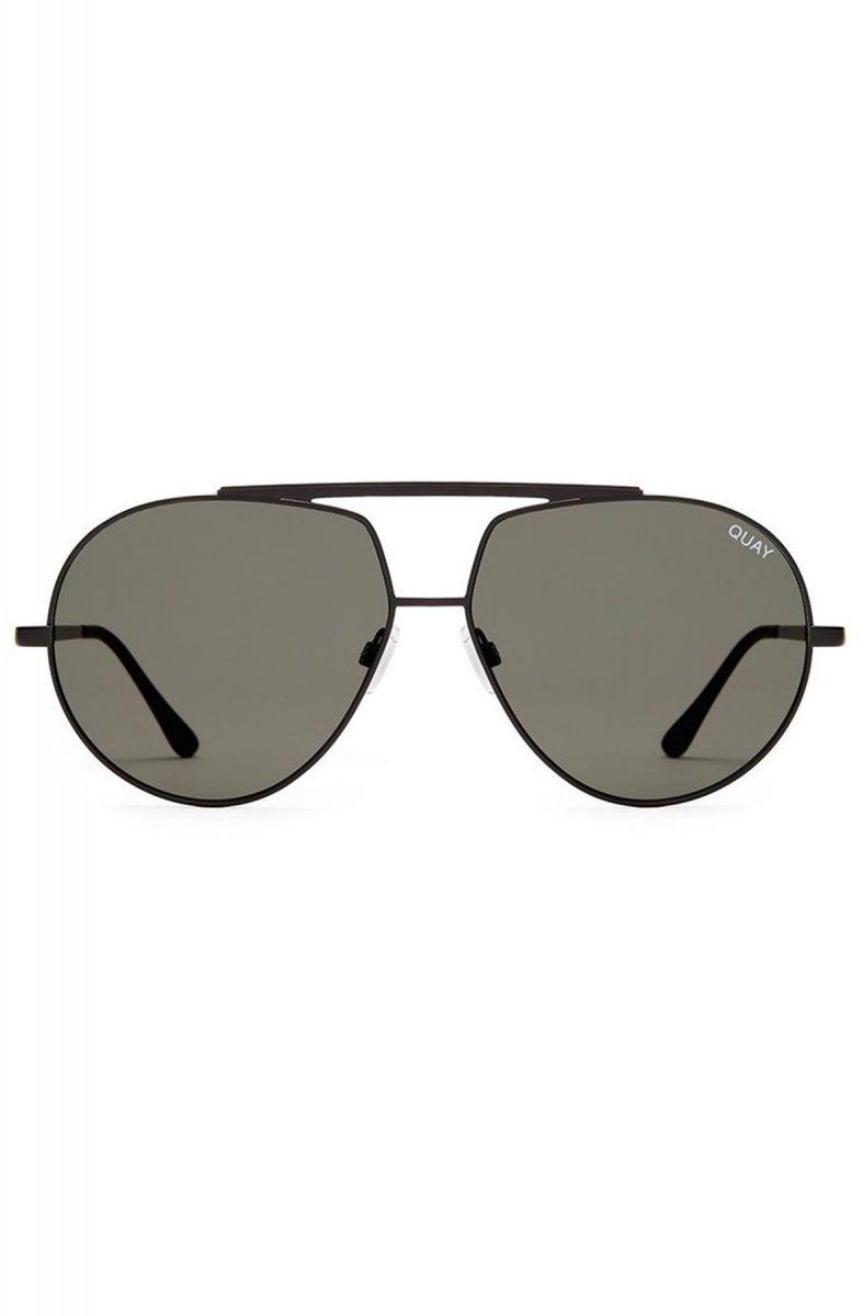 c134c2772e6fe Quay Eyeware Sunglasses Blaze Black Green Lens Black