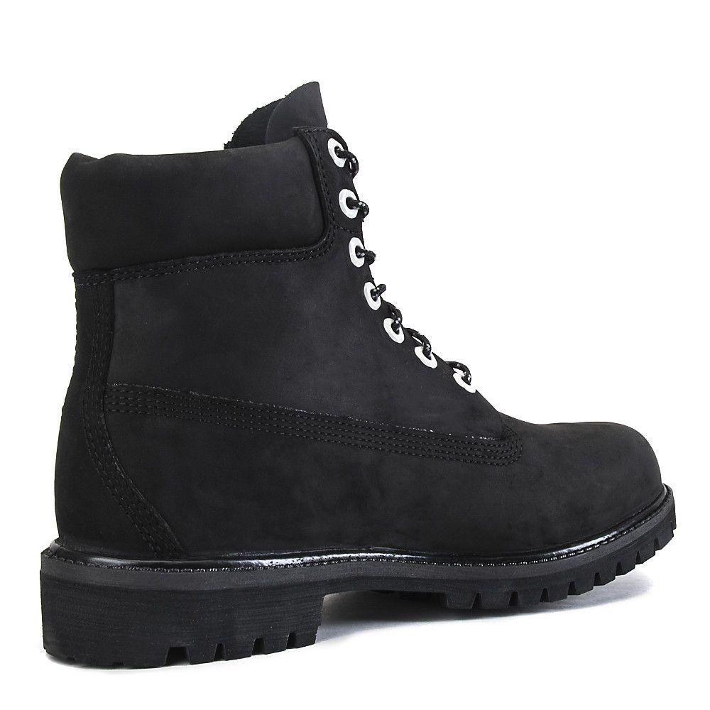 51f656383b675 Timberland Boot Premium 6 Inch Casual Reflective Black