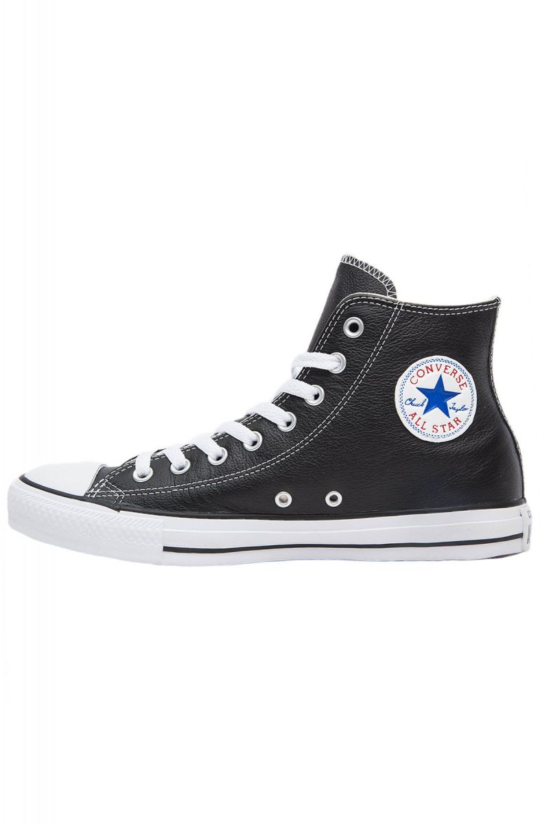 33e687c718e2ba Converse Sneaker Chuck Taylor All Star Leather Black   White