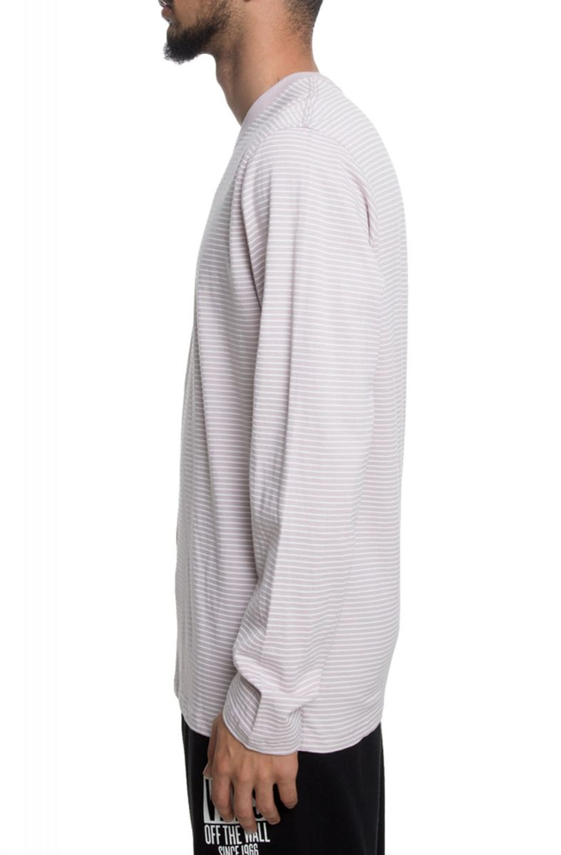 8ef097bb65 ... The Engineered Vans Striped Long Sleeve in Violet Ice ...