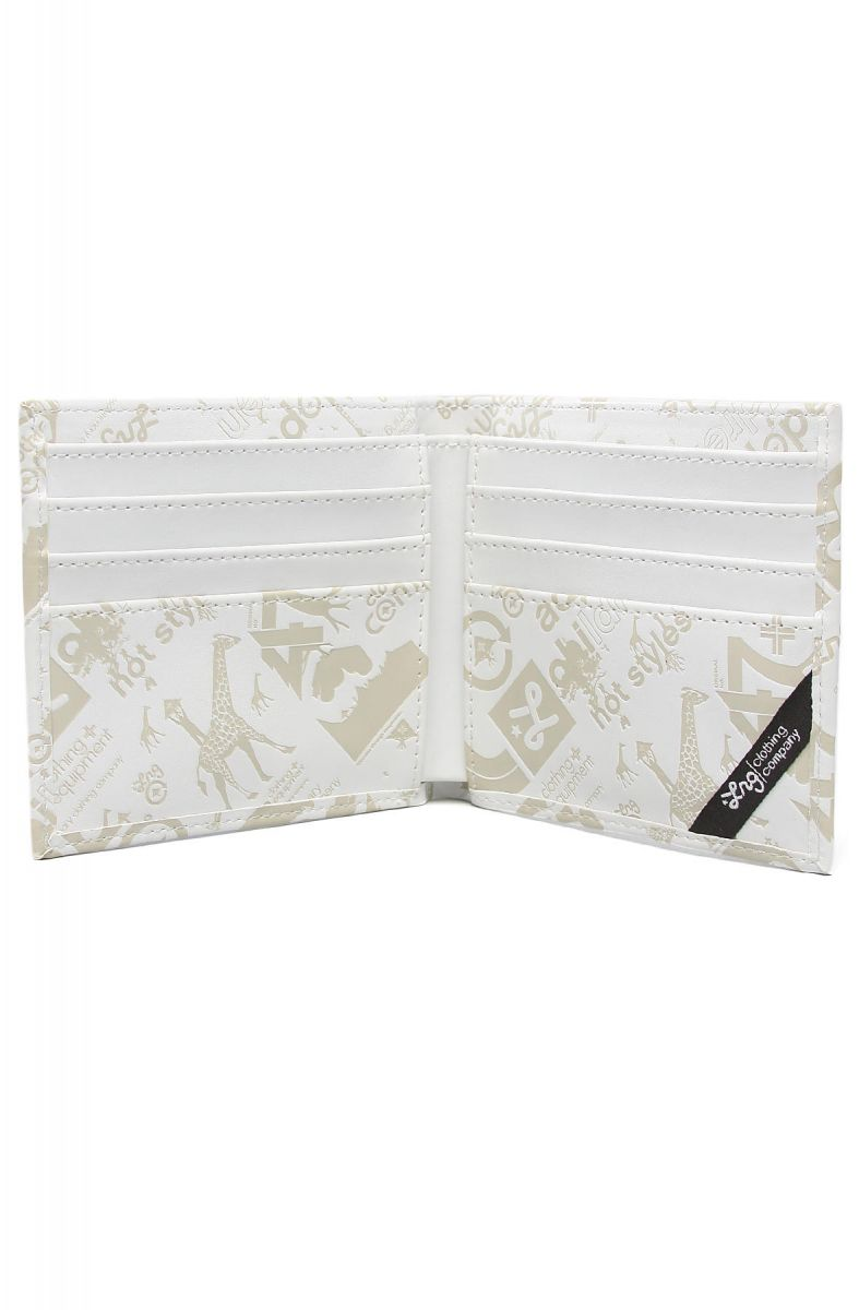 Lrg Wallet Core Collection One In White