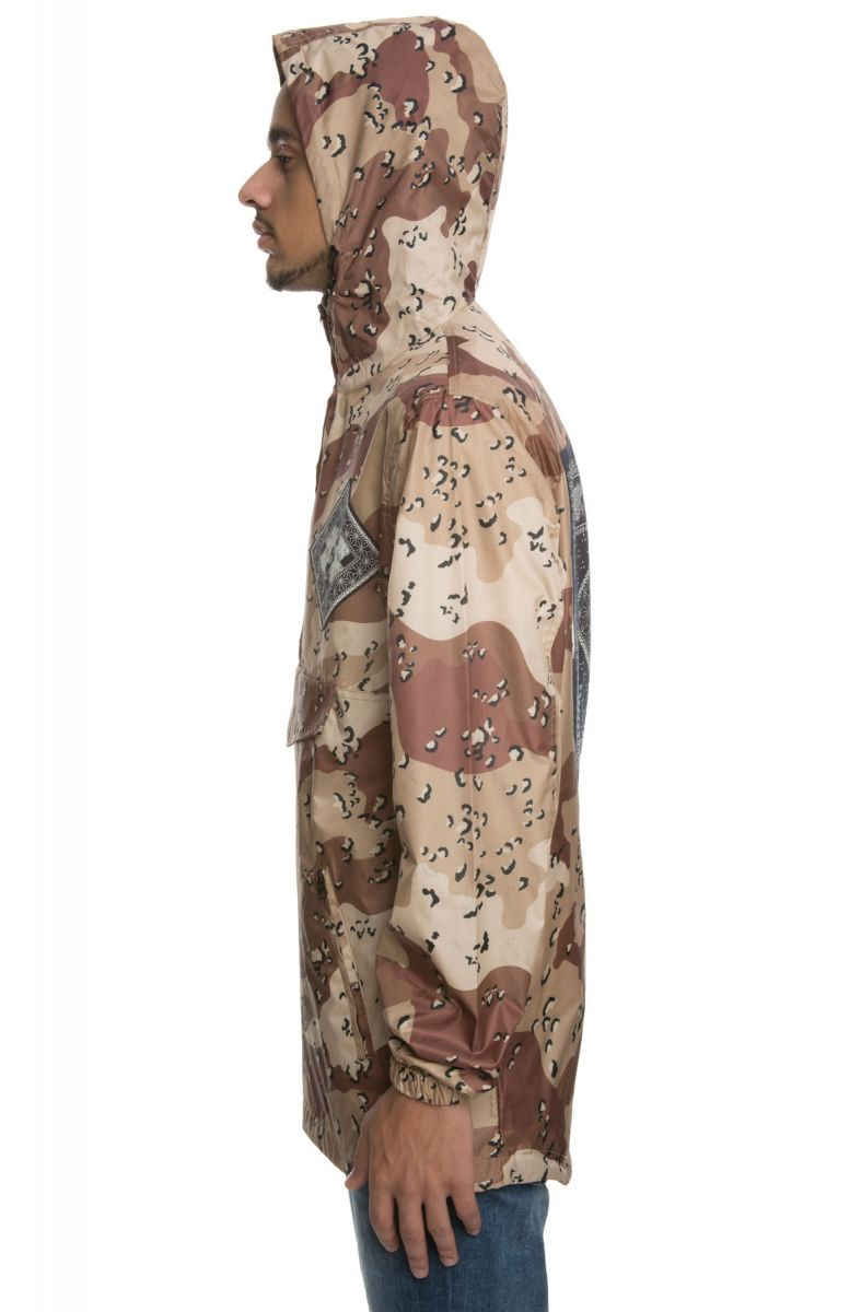 best service 0c205 48647 The Until The End Bandana Jacket in Desert Chips Camo