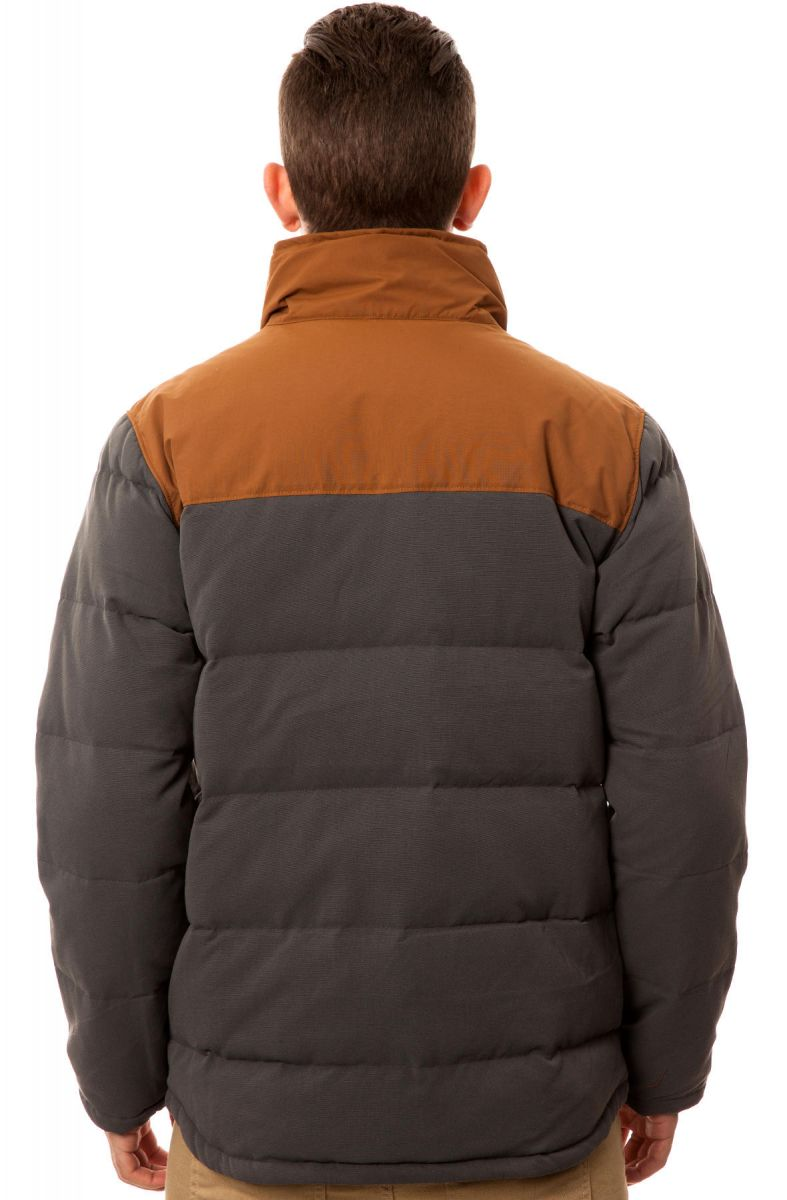 Patagonia Jacket Bivy Down Jacket In Forge Grey