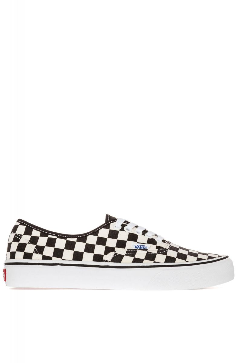 a2553599d53c9d Vans Footwear Sneaker The Authentic in Golden Coast Black   White Checker  Multi