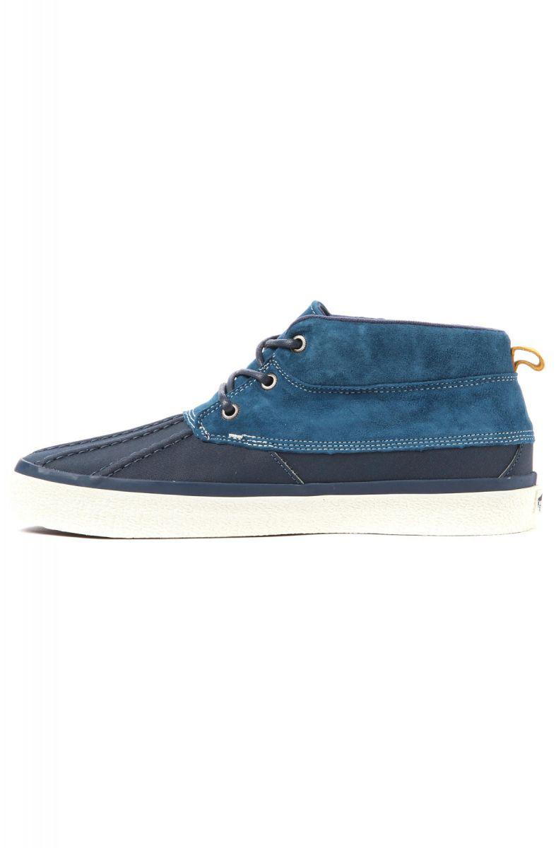 e62055fa940326 Vans Footwear Shoes Chukka Del Pato CA Sneaker in Dress Blue