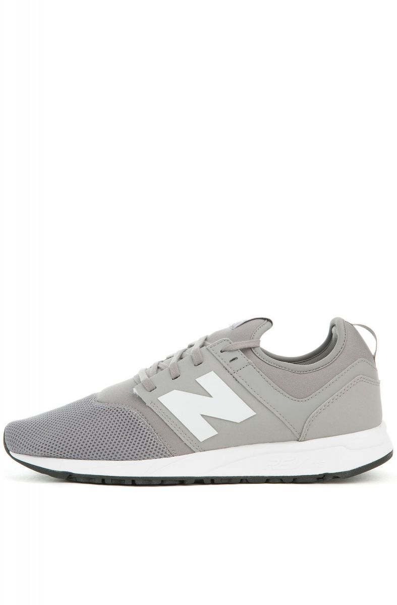 The 247 Sneaker in Grey and White